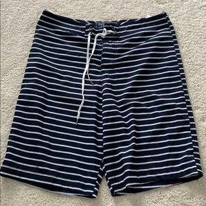 navy trunks